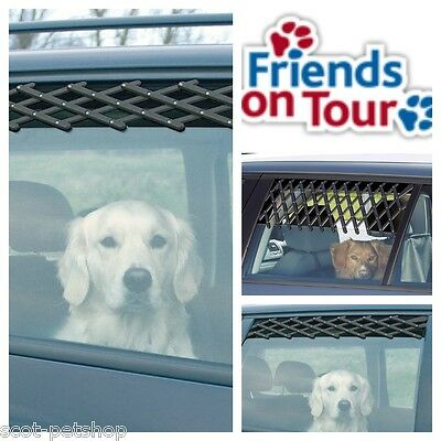 Car Ventillation Lattice For Car Windows - Fresh Air For Your Dog