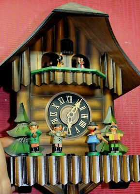 Old Cuckoo Clock to Schwarzwald Black Forest + Carillon*3Weights*