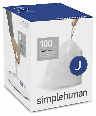 simplehuman Bin Liner Code J x 100 Liners. From the Official Argos Shop on ebay