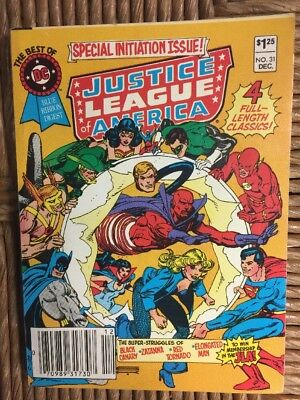 Best of DC Blue Ribbon Special Digest Justice League #31