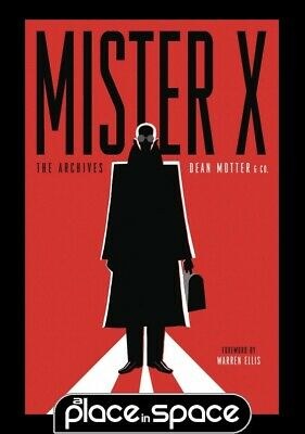 Mister X Archives - Softcover