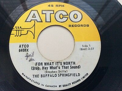 THE BUFFALO SPRINGFIELD - For What It's Worth <What's That sound> NEIL YOUNG