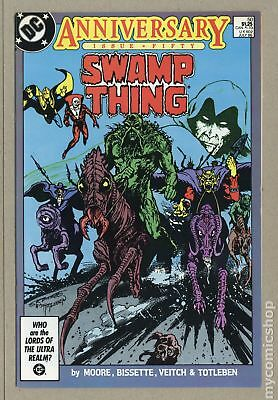 Swamp Thing (1982 2nd Series) #50 VF- 7.5