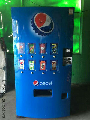 Pallet : Awesome Used Pepsi 8 Selection Machine - Unlocked Model DN501EMC/S11-9