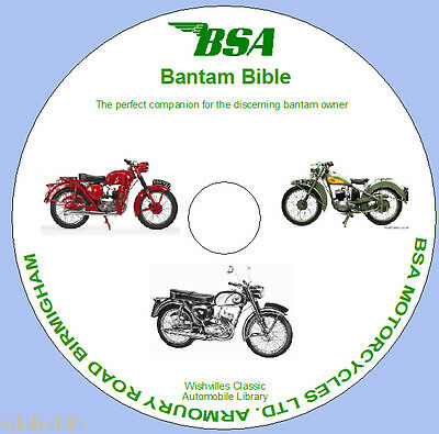 The BSA Bantam Bible  CD-rom