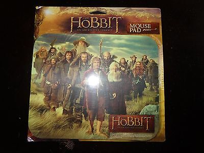 The Hobbit: An Unexpected Journey Bilbo,Gandalf & Dwarves Computer Mouse Pad NEW