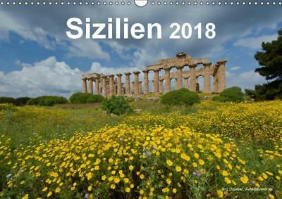 Wandkalender DIN A3 Sizilien 2018