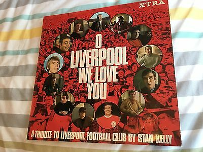 O LIVERPOOL WE LOVE YOU - A TRIBUTE TO LIVERPOOL F.C.  Vinyl LP