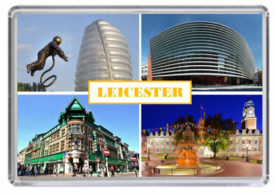 Leicester, leicestershire Fridge Magnet 01