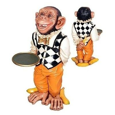 Monkey Chimp Butler Funny Teeth 2ft Restaurant Display Cartoon Prop