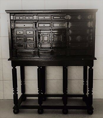 Stunning 17 th century and later rennaisance cabinet restored ! Rare