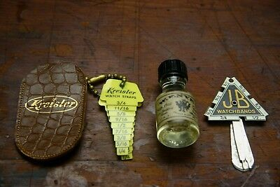 Vintage Watch Advertising Lot, 3 Pieces