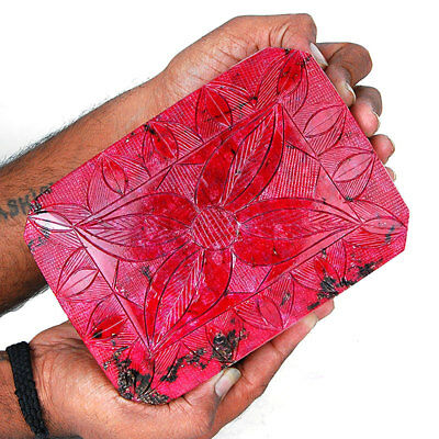 24900 Cts ~IGLI Certified~ Museum Grade Natural Ruby Huge Hand Carved Gemstone