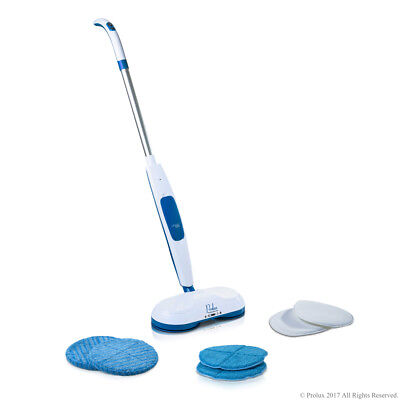 Prolux Mirage Cordless Floor Cleaner Polisher Buffer Hardwood Tile Scrubber Waxe