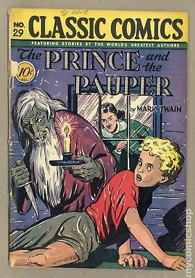 Classics Illustrated 029 The Prince and the Pauper (1946) #1 GD+ 2.5