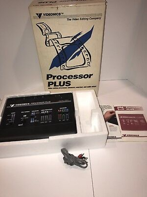 Videonics Processor PLUS Model PP1  IN BOX UNTESTED