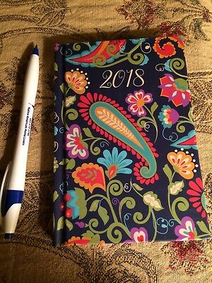 2018 Weekly Planner Agenda hard cover