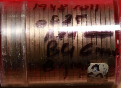 Roll Of 25 Great Britain 1948 Pennies Free S/H