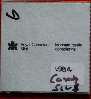 Uncirculated 1984 Silver Canada $1 Dollar Foreign Coin Free S/H