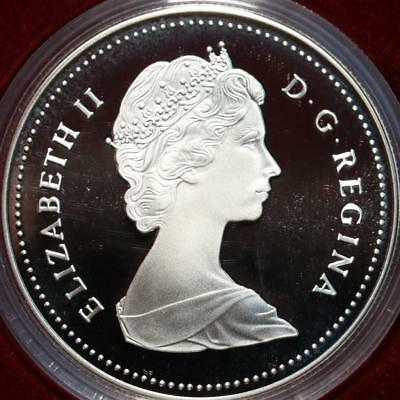 Uncirculated 1986 Silver Canada $1 Dollar Foreign Coin Free S/H