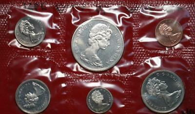Uncirculated 1965 Canada Silver Mint Set Free S/H