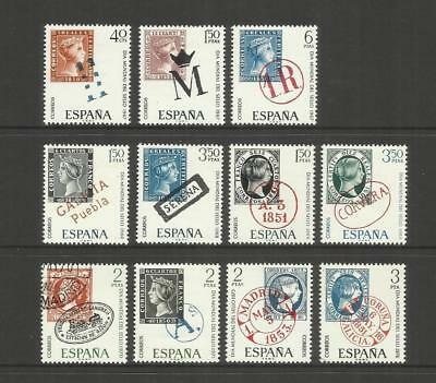 Spain Espana ~ 1967-76 World Stamp Day (Mint Mnh)