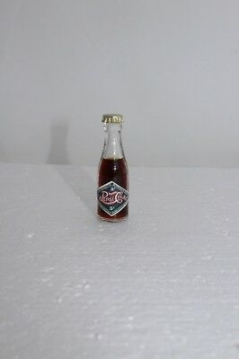1900's DRINK PEPSI:COLA 5 Cent  Miniature 2 1/2 inch Glass Bottle -New Old Stock