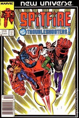 Spitfire and the Troubleshooters (1986) #1 VG LOW GRADE