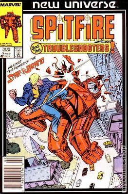 Spitfire and the Troubleshooters (1986) #5 VG LOW GRADE