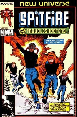 Spitfire and the Troubleshooters (1986) #6 VG LOW GRADE