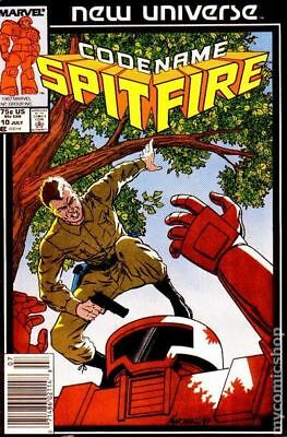 Spitfire and the Troubleshooters (1986) #10 VG LOW GRADE