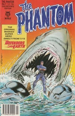 Phantom (1992 Wolf UK) #1 VG LOW GRADE