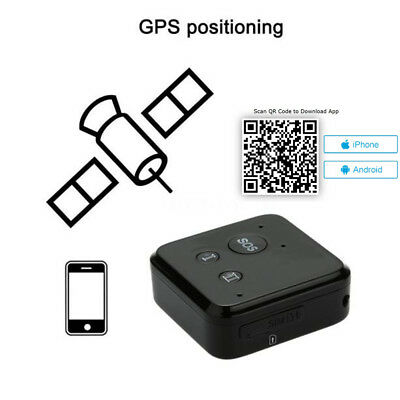 New Mini Black Car Offroad GSM GPRS GPS Tracker Realtime Tracking System Kit SOS