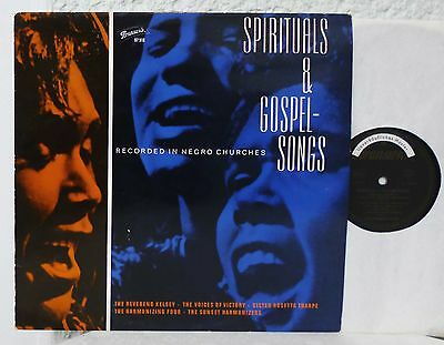 Spirituals & Gospel Songs   BRUNSWICK  LP  1963