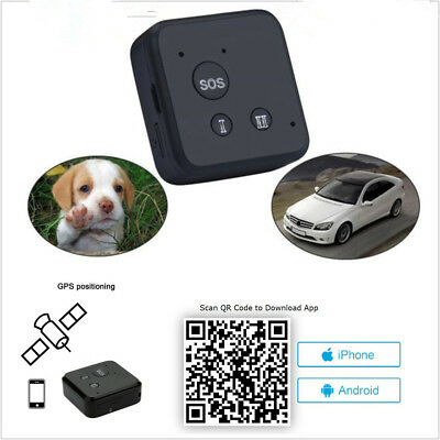 Mini Portable Autos GSM GPRS GPS Tracker Realtime Tracking System G-Fence Alarm