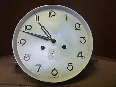 Original 1930s Wall Clock Spring Driven Chimeing Movement+Dial(5)
