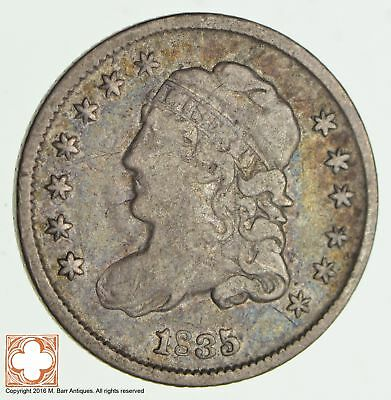 1835 Capped Bust Half Dime *1988