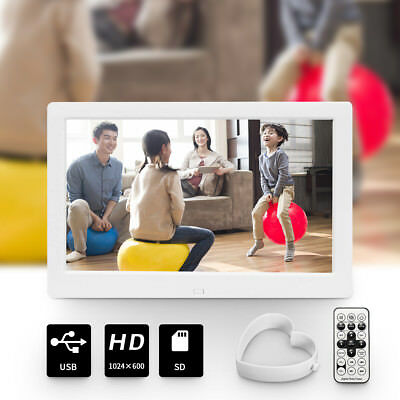 10/15 Inch HD LED Screen Digital Photo Picture Frame Photography MP3 MP4 Gift AU