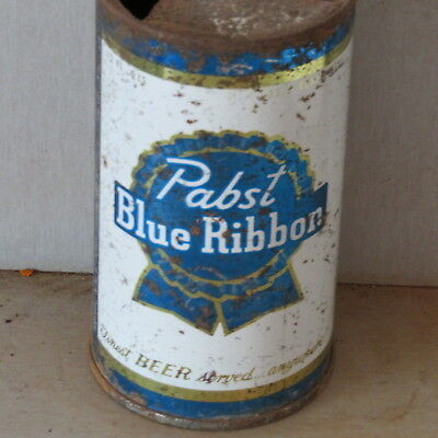 Pabst Blue  Ribbon   Solid   Colorful    Flat Top