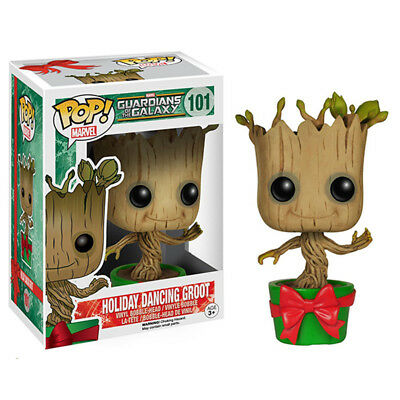 Funko POP! Guardians of the Galaxy Dancing Groot Bobble Vinyl Figure Toys Gift