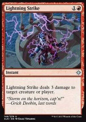 MTG 4x LIGHTNING STRIKE - COLPO DI FULMINE - XLN - MAGIC