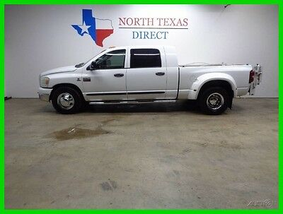 2008 Dodge Ram 3500 MegaCab 6.7 Diesel New Tires Texas Owned Tommy Lif 2008 MegaCab 6.7 Diesel New Tires Texas Owned Tommy Lif Used Turbo 6.7L I6 24V