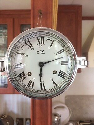 Ships 8 Bell Clock by FCC Precision.
