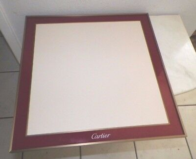 """Cartier Jewelry Display Board For Use Or Display / Decoration Decor 18"""""""