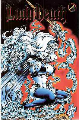 CHAOS - Comic - Lady Death - 1/2 Sonderheft - GOLD!! - deutsch