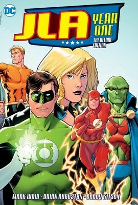 Jla Year One Deluxe Hc, Kitson, Barry, Waid, Mark, Augustyn, Brian, 97814012708.