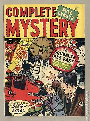 Complete Mystery (1948) #4 VG+ 4.5