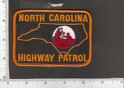for sale1 vintage police shoulder patch, North Carolina State Police.(Ver.5)