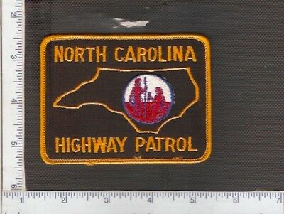 for sale1 vintage police shoulder patch, North Carolina State Police.(Ver.4)