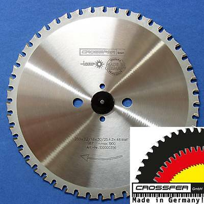 Sägeblatt METALLE EISEN 250x30/25,4 Z48 WZ MADE IN GERMANY für Dry Cutter Jepson